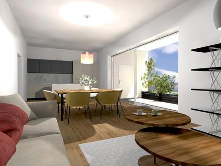 Besichtigung möglich: Luxus-Eigentumswohnung Top3 - zentrale Lage