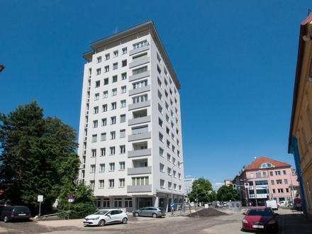 Klagenfurt - Nähe Messegelände: 3-Zimmerwohnung mit Süd-West-Ausrichtung und Loggia
