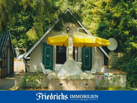 Gemütliches Wochenend-/Ferienhaus mit Nebengebäude am Bernsteinsee in Conneforde - Pachtgrundstück -