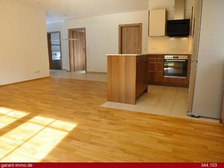 Sonnige, ruhig gelegene 4 Zimmer-Erdgeschoss-Wohnung mit Gartenanteil