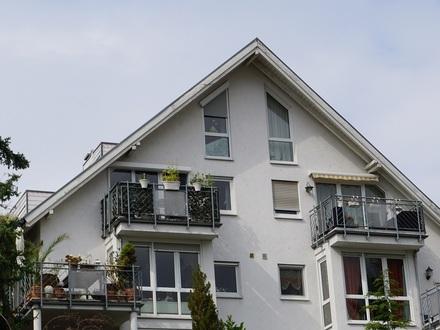 Wohnungsjuwel in Hanglage