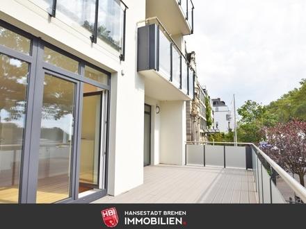 Reserviert: Ostertor / Kapitalanlage: Großzügige Eigentumswohnung mit Weserblick in Bestlage