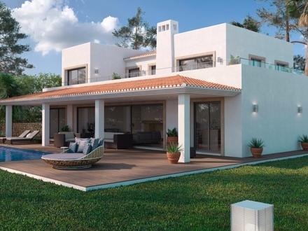 Neubauvilla mit spanischem Urlaubsflair