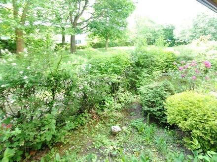Barrierefrei erreichbar: Erfüllen Sie diese 4-Zimmer-Gartenwohnung mit neuem Leben!