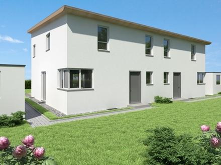 Projektierte, schicke Doppelhaushälften im Neubaugebiet Blaufelden