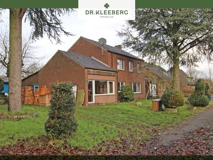 Sanierungsbedürftiges Einfamilienhaus mit Potenzial und Westgarten in Dorfrandlage von Gimbte