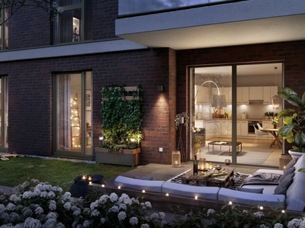 WERKSTADT Kolbenhöfe - Großzügige 4-Zimmer-Erdgeschosswohnung mit Terrasse