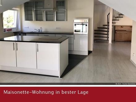 Neuwertig Maisonette-Wohnung mit EBK in bester Wohnlage