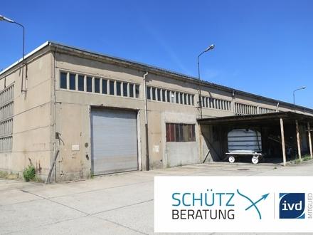 Sofort frei: Halle mit 1.152 m² und optimaler Anbindung!
