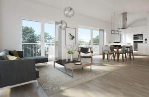 Neue 3½-Zimmer-Wohnung mit Aufzug in Bühlerzell