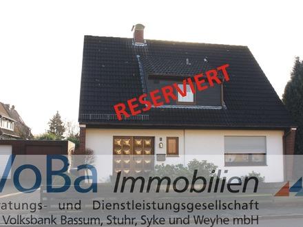 Solides Einfamilienhaus in der Bremer - Neustadt