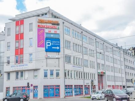 Provisionsfreie Büros beim Trillerpark - 151m² bis zu 646m²