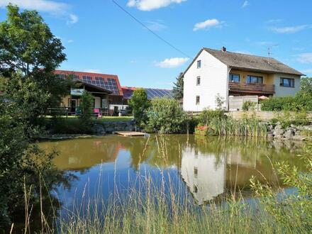 Reitanlage mit 40 Einstellplätzen und großzügigem Zweifamilienhaus nahe Auerbach i.d. Oberpfalz