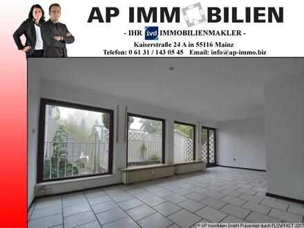 Einfache 2-Zimmer-Terrassenwohnung in Wackernheim