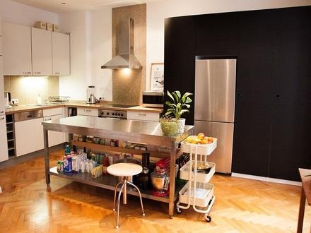 Schicke 3,5 Zimmer-Wohnung mit uneinsehbaren Garten