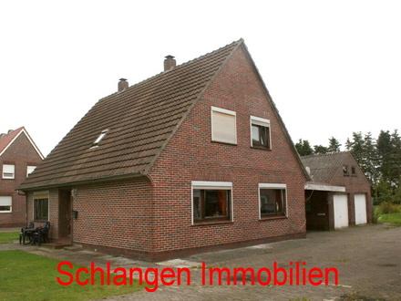 Objekt Nr.: 17/625 Einfamilienhaus mit D-Garage im Seemannsort Barßel / OT Elisabethfehn
