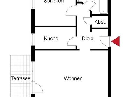 * Schön geschnittene Eigentumswohnung *