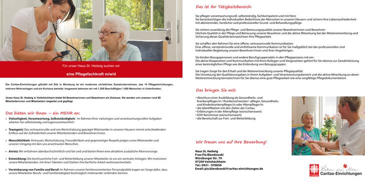 Wir sorgen für eine höhere Lebensqualität von über 1.600 älteren Menschen und deren Angehörige. Mit Professionalität, Leidenschaft und Herz- darauf sind wir stolz!