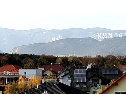 Traumblick am Föhrensee, Alpenpanorama inklusive