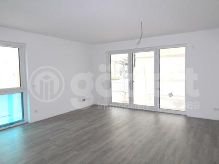 Neubau-Wohnung im Zentrum mit Balkon!