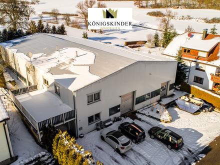 Gechingen: Halle und Firmenwohnung auf ca. 1402 m² großem Grundstück zu kaufen oder mieten!