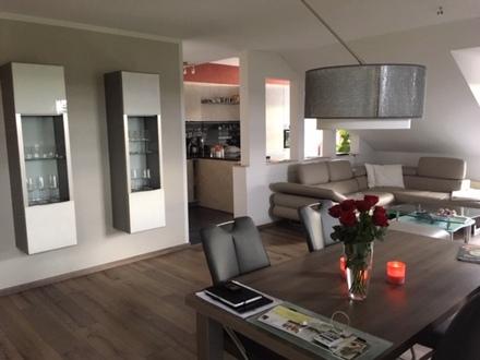 Sonnige 2 Zimmer -Studio-Wohnung in Gebenbach