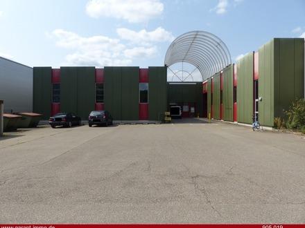 Großzügiges Lagergebäude mit Büro- und Sozialräumen direkt in Singen