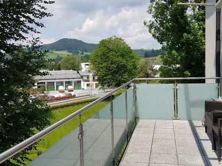 Schöne zentral gelegene Wohnung mitten im Grünen