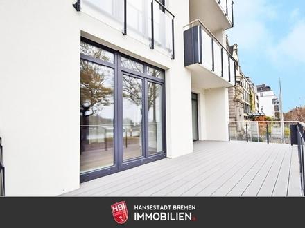 Ostertor / Kapitalanlage: Großzügige Eigentumswohnung mit Weserblick in Bestlage