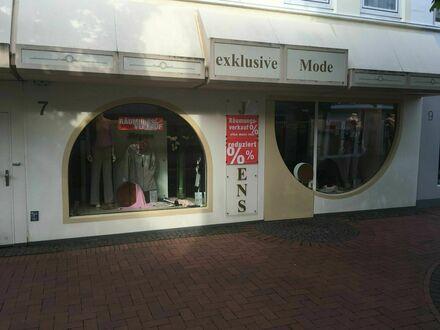 Ladengeschäft / Mode-Boutique in der Fußgängerzone Uetersen