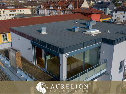 EXKLUSIVES WOHNERLEBNIS Penthouse in zentraler Lage Aschaffenburgs mit eigener Dachterrasse