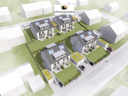 *Neubauprojekt* Familienfreundliche DHH am Südhang + Terrasse + Balkon + Garten + Garage!