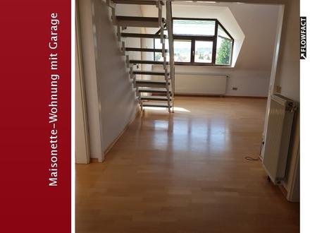 Maisonette- Wohnung in bester Lage in Alzenau für max.3 Personen