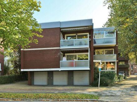 TT bietet an: Klasse Eigentumswohnung mit Garage im Villenviertel!