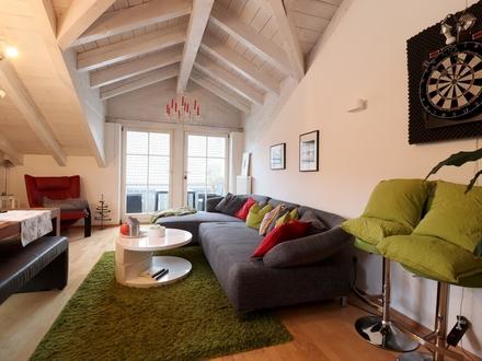 Ideal fürs Kapital! 3- Zi. Dachgeschosswohnung in Neubeuern