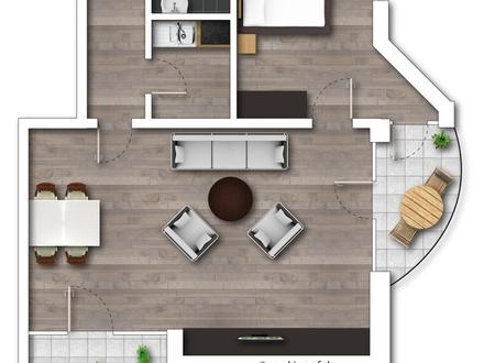 2-Zimmer-Wohnung nähe Uni!