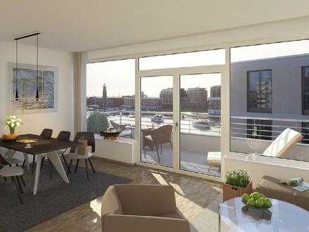 Neubau Oceon Living: Wunderschöne 2-Zimmer-Wohnung mit fabelhaftem Balkon