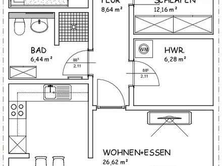 Nur noch 4/16: Attraktive Neubau-Wohnungen im Wohnpark Nörrmark!