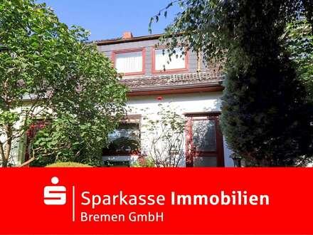 Für die kleine Familie: gepflegtes Reihenmittelhaus mit Potenzial in Bremen Oslebshausen
