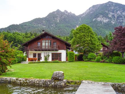 """Hallstätter See: """"Seeliegenschaft mit Landhaus"""""""