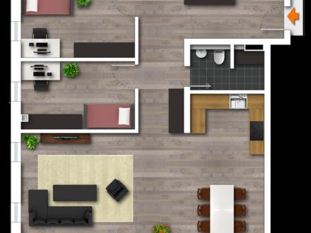 Lifestyle in 4-Zimmer-Neubauwohnung