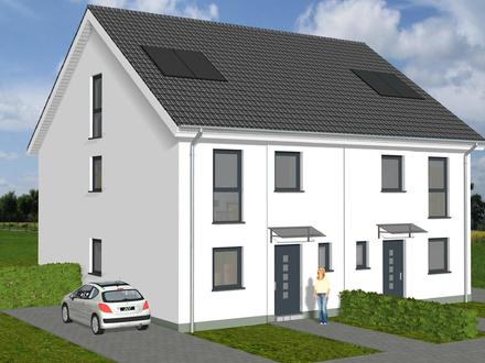 Neubau-Doppelhaushälfte in Alt-Marl