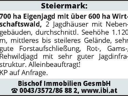 Steiermark: 700 ha Eigenj