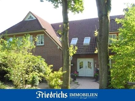Erdgeschosswohnung mit Gartenanteil in Bad Zwischenahn -zusätzl. Erwerb einer Doppelgarage möglich-