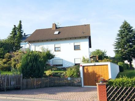 Möblierte 2-Zimmer-Einliegerwohnung mit Terrasse in Coburg-Rögen