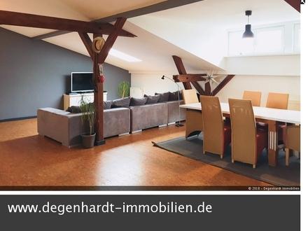Loft-Studioatmosphäre in einem historischen Wohn- und Bürohaus in Groß-Umstadt!