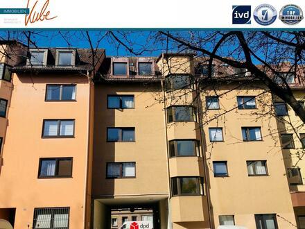 Traumhafte Maisonettewohnung mit Dachloggia in Nbg., Kleinreuth h.d. Veste