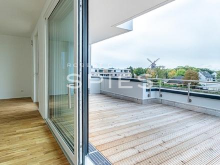 Neubau/Erstbezug: Hochwertige 3-Zimmer-Penthouse-Whg. mit Süd-West-Terrasse