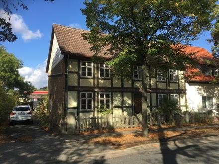 Fachwerkhaus zum Sanieren in zentraler Lage von Vienenburg