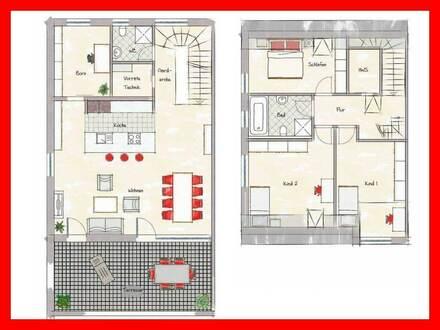 Moderne Neubau Wohnungen mit Süd-Terrassen!